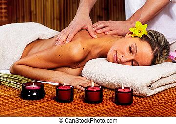 Spa massage.