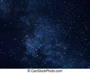 Astrophoto of deep space rich in stars