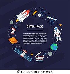 Space round frame