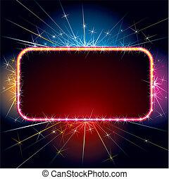 Sparkling Sign