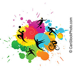 colorful abstract background, vector design