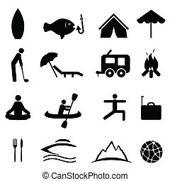 Sports and recreation icons
