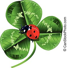 St. Patrick Day Three Leafed Clover