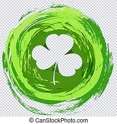 St. Patrick's day green texture