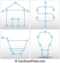 Star Matrix Chart Set