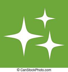 Stars icon green