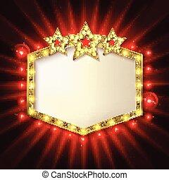 Stars over copyspace