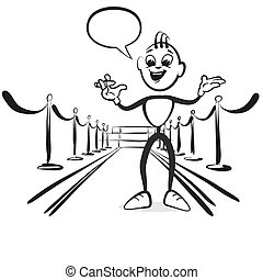Stick figure series emotions - opening moderation