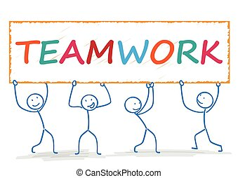 Stickman Teamwork