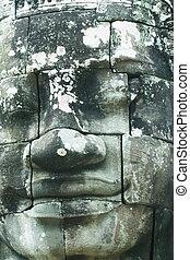 Stones face