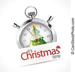 Stopwatch - Christmas time