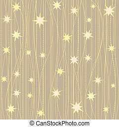 Stripy pattern with stars