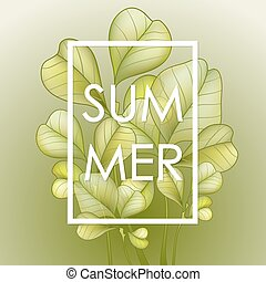 Summer Time poster.