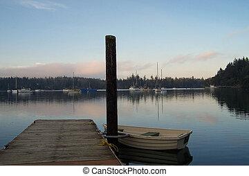 Sunset on the Puget Sound