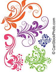 Swirl pattern vector