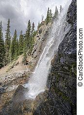 Tangle Creek Falls in Canada