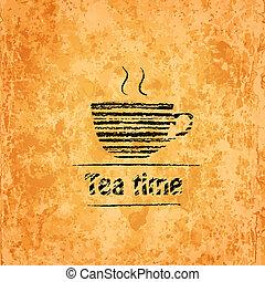 Tea time background