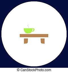 Tea time computer symbol