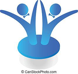 Team business logo