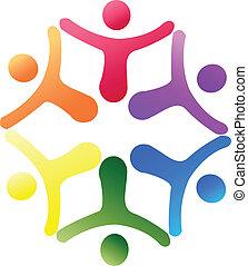 Team support logo