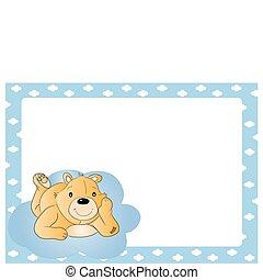 Teddy bear for babyboy
