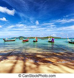 Thailand tropical beach exotic landscape