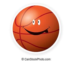 Smile sport basketball