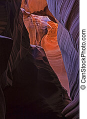 The beauty of Antelope Canyon, in Page, Arizona