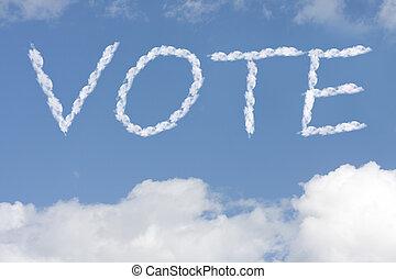 Vote your conscious