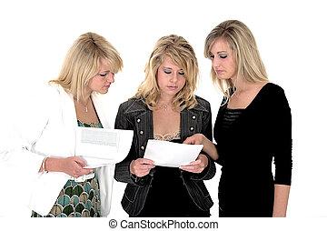 Three business woman 4