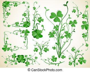 clover design elements