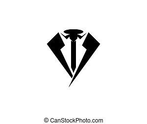 Tie business icon vector illustration