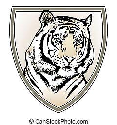 Tiger crest