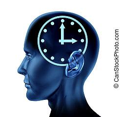Time schedule symbol