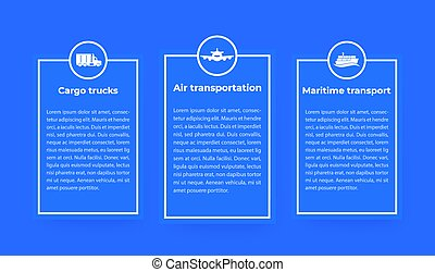 transportation industry infographics
