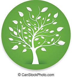 vector illustration of tree