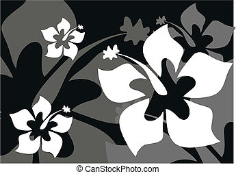 tropical flower background3