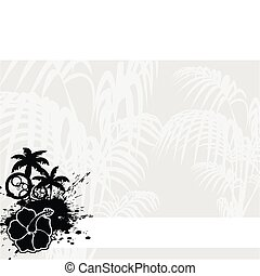 tropical flower background9