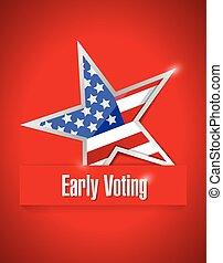 us early voting patriotic
