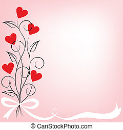 bouquet of flowers shaped heart
