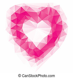 valentine's day card, vector