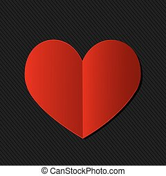 valentine's day heart card