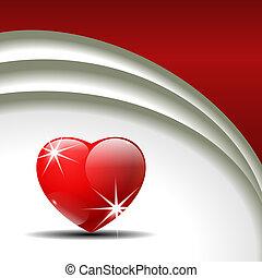 Valentine's Day vector background.