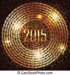 Vector 2015 background