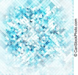 vector abstract background with colored elements