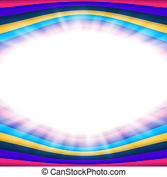 Vector abstract background with flare and color lines