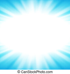 Vector abstract background with flare