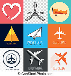 Vector Airplane Collection