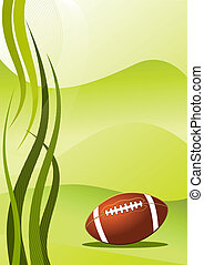 Vector american football background