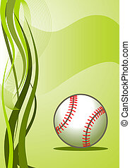 Vector baseball Background